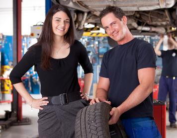 Fachwerkstätte - Reifenreparatur
