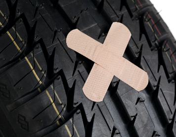 Reifen selbst reparieren